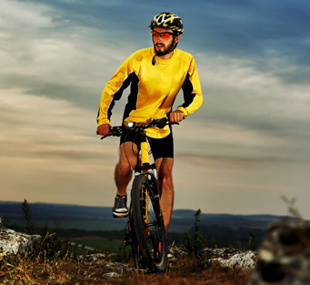 mountain biker th - The Iron Horse Homepage